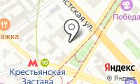 Автомойка на Марксистской на карте
