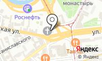 Храм Преподобного Сергия Радонежского в Рогожской Слободе на карте