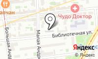 Детский сад №1777 на карте