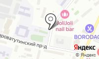 Автостоянка на Староватутинском проезде на карте