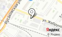 Продовольственный магазин на Жебрунова на карте