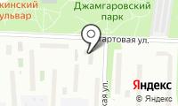 Джетком на карте