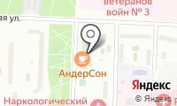 ТВА на карте