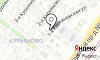Минипекарня на Курьяновской 1-й на карте