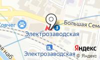 Станция Электрозаводская на карте