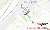 Автостоянка на Палехской на карте