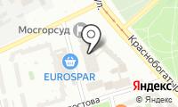 Московский городской суд на карте