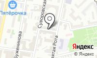 Бухбюро на карте