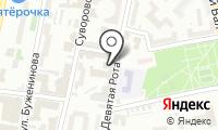Дарконт на карте