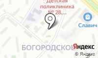 Мировые судьи района Богородское на карте