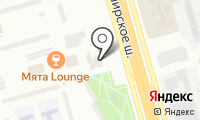 ЮАО на карте