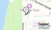 Русалочка на карте