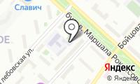 Автомойка на Маршала Рокосовского на карте