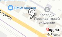 Maki на карте