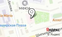 Детская поликлиника №66 на карте