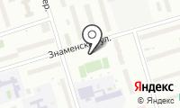 Автостоянка на Знаменской на карте