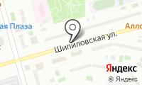 Киоск по продаже кондитерских изделий на карте