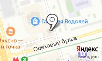 Магазин дисков на Ореховом бульваре на карте