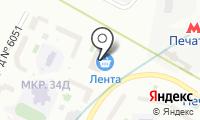 Курьяново-Печатники на карте