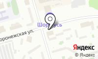 Магазин разливного пива на Воронежской на карте