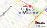 Шиномонтажная мастерская на Открытом шоссе на карте