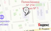 Начальная школа-детский сад №1632 на карте