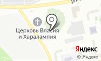 Борисовское кладбище на карте