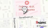 Городская клиническая больница №36 на карте