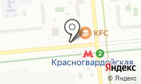 Магазин косметики и парфюмерии на Ореховом бульваре на карте