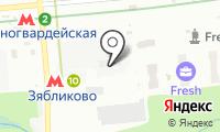 Красногвардейская на карте