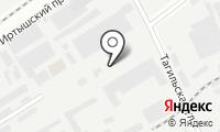 Шиномонтажная мастерская на Иртышском 2-ом проезде на карте