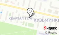 Муниципалитет внутригородского муниципального образования Кузьминки на карте
