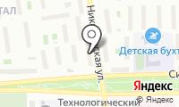Парикмахерская на Никитинской на карте