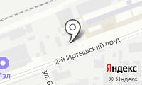 Мэтакс на карте