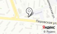 ЗАГС района Перово на карте