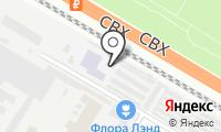 Гаражно-строительный кооператив №5 на карте