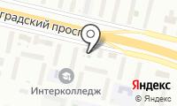 Альфастом на карте