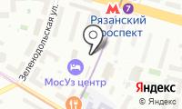 Магазин одежды и белья на Новокузьминской 1-й на карте