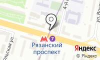 Магазин сотовых телефонов и аксессуаров на Рязанском проспекте на карте