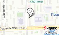 Городская поликлиника №182 на карте