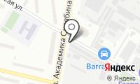 Автостоянка на Сормовском проезде на карте