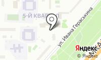 Цветок Джакаранды на карте