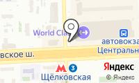 Цветочный магазин на карте