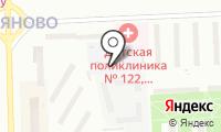 Детский сад №1651 на карте