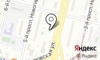 Вояж-фортуна на карте
