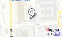Шиномонтажная мастерская на Щёлковском шоссе на карте