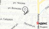 Почтовое отделение КРЫМСК 7 на карте