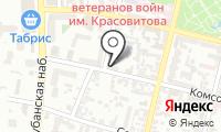 Почтовое отделение КРАСНОДАР 63 на карте
