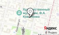 Почтовое отделение КРАСНОДАР 64 на карте