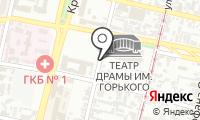 Почтовое отделение КРАСНОДАР 31 на карте